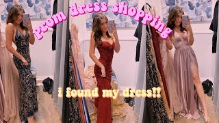 come prom dress shopping with me 2020! i found the perfect dress!