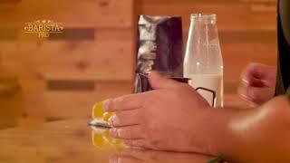 Barista Pro Ρόφημα Λευκή σοκολάτα βουτύρου με Λεμονόχορτο - Συνταγή βήμα-βήμα