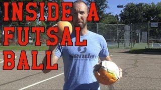 What is Inside of a Futsal Ball?