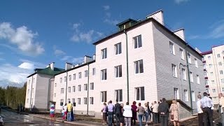В новый 45-квартирный дом переезжают 78 жителей Валдая