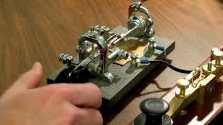What's Up With The Vibroplex Bug Morse Key's Unique Sound?