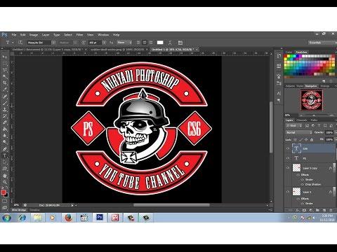 cara membuat logo club motor # 1