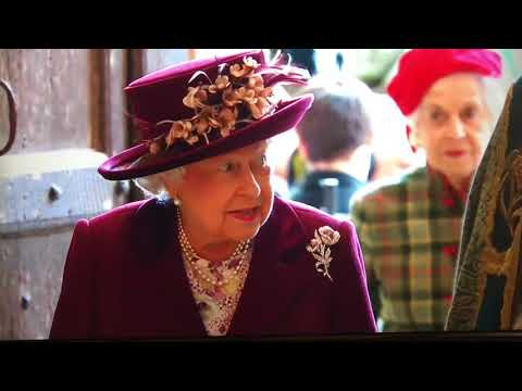 Hm the queen arriving at westminster abbey commonwealth day 2018 mp3