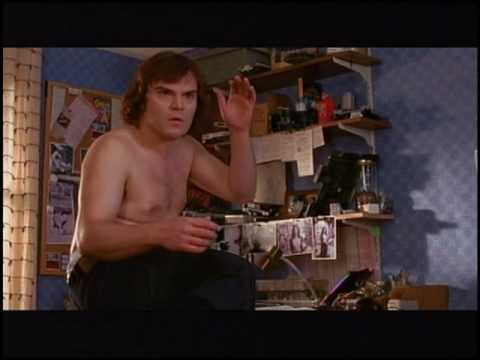 Jack Black v roli Spidermana