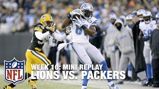 Lions vs. Packers (Week 10) | Aaron Rodgers vs. Calvin Johnson Mini Replay | NFL