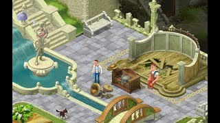 GARDENSCAPES NEW ACRES Gameplay Story Playthrough | Area 6 Day 3 and Day 4 Waterfall