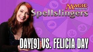 Day[9] vs. Felicia Day in Magic: The Gathering: Spellslingers Ep 5