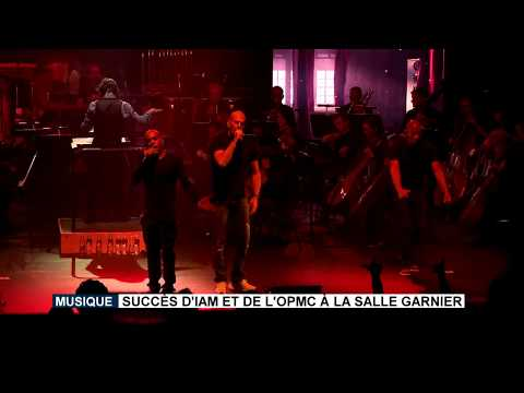 Music: success for IAM and Monte-Carlo Philharmonic Orchestra at Salle Garnier