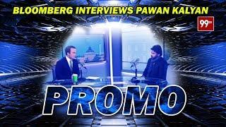 Bloomberg Interview with Pawan Kalyan | PROMO | #PravaasaGharjana