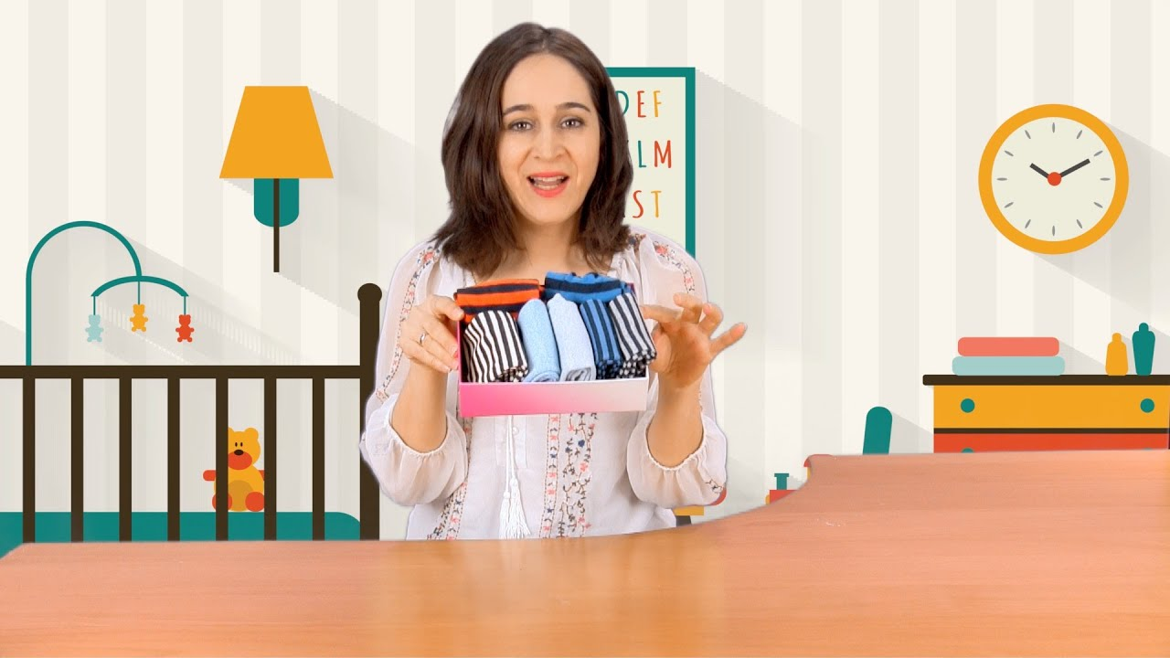 3 trucos para enseñar a doblar y ordenar la ropa a los niños