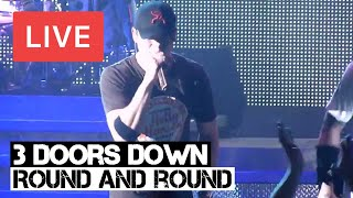 3 Doors Down - Round and Round Live in [HD] @ Hammersmith, London 2012