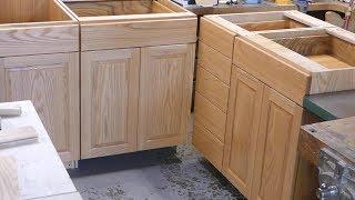 make a frameless kitchen cabinet Part 2 : base cabinet(My house remodeling project # 3)