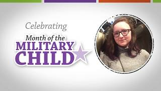 2018 Month of the Military Child - Grace