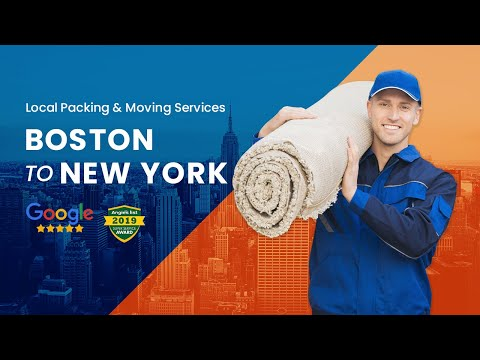 Boston to New York Movers - Need Moving Services from Boston To New York?