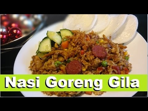 Video Resep Nasi Goreng Gila  (Crazy Fried Rice Recipe)