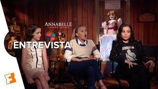 Annabelle 3: Experiencias sobrenaturales en el set l Entrevista Exclusiva