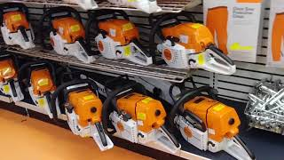 The Mower shop stihl dealer in Ft Smith Arkansas great place