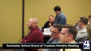 Rochester School Board - 4-15-19