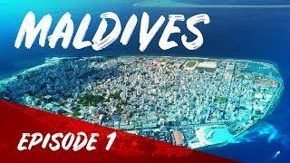 Бомж тур по Мальдивам. Столица Мале. А где рай?