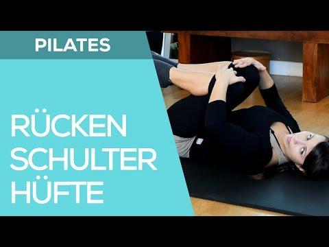 Schmerzen im Nacken nach rechts Muskelzerrung