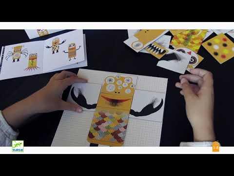 Kinoptik - Animonster - 25 tk, Djeco DJ05600 hind ja info | Arendavad mänguasjad 3+ | kaup24.ee