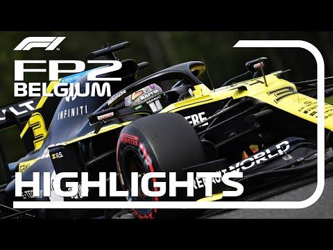 F1 2020 第7戦ベルギーGP(スパ・フランコルシャン)フリープラクティス2ハイライト動画