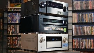 Kompaktversion AV-Receiver Vergleich - Denon Pioneer Onkyo