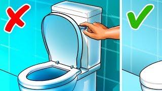 13 sai lầm trong nhà tắm chúng ta thường mắc phải
