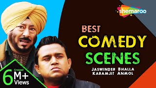 Best Comedy Scenes | Jaswinder Bhalla | Karamjit Anmol | Latest Punjabi Comedy - Download this Video in MP3, M4A, WEBM, MP4, 3GP