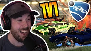 1V1 Battle for our FAVORITE ITEMS in Rocket League!