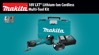 MAKITA 18V LXT® Multi-Tool Kit - Thumbnail