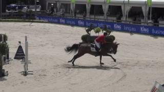 Gudrun Patteet & Sea Coast Pebbles Z first round 1.60m nations cup CSIO5* Rotterdam