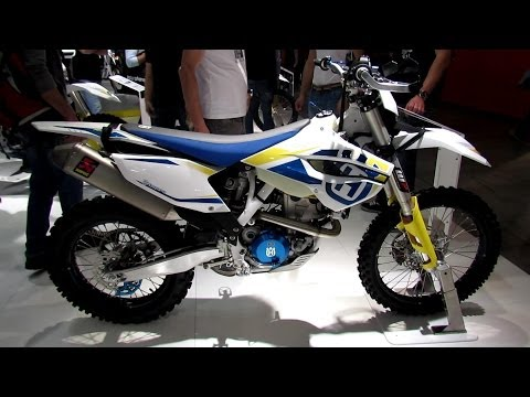 2014 Husqvarna FE 350 Walkaround - 2013 EICMA Milan Motorcycle Exhibition