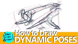 IS THIS THE SECRET FOR DRAWING ACTION POSES?