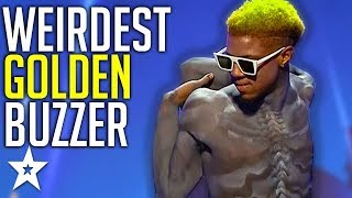 Download Creepy Contortionist Gets GOLDEN BUZZER On