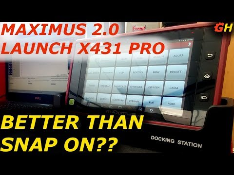 Matco Tools: A Look At The Maximus 3 0 Scanner - смотреть