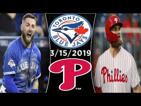 Toronto Blue Jays vs Philadelphia Phillies | Game Highlights
