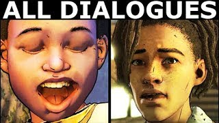 Louis Visiting AJ In The Dorm - All Dialogues - The Walking Dead Final Season 4 Episode 2