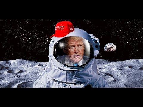 BREAKING: President Donald Trump gives VITAL Speech on sending US astronauts 'back to the moon'