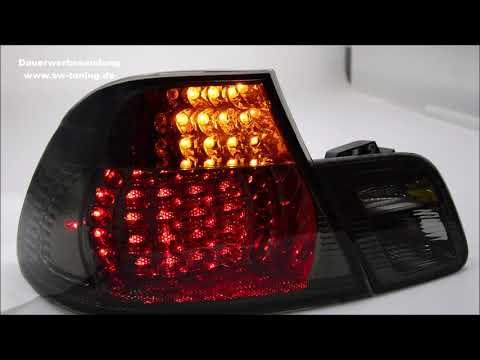 SW-Light LED Rückleuchten für 3er BMW E46 Coupé 98-03 smoke mit dynamischer Blinker SW-Tuning