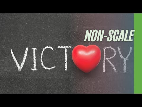 The importance of non scale victories (with voice)