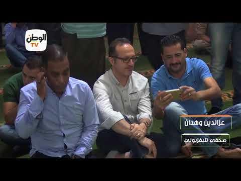 شريف مدكور يتعرض لموقف محرج في جنازة والد عمرو الكحكي