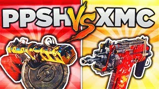 PPSH vs XMC! (BO3 DLC WEAPON FACE OFF) BLACK OPS 3 DLC WEAPON SUPPLY DROP OPENING!