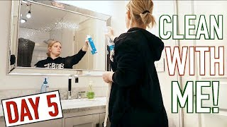 CLEAN WITH ME + BUYING APPLIANCES! VLOGMAS DAY 5