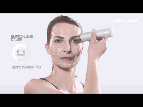 Mira-Skin – einfache Behandlung mit Ultraschall für Zuhause