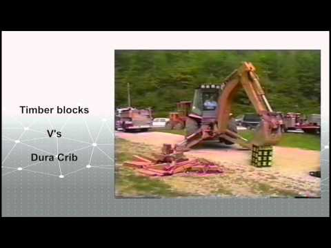 Dura Crib® Cribbing Blocks DCSC6724LB and DCSC6724LY
