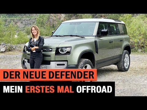 Der neue Land Rover Defender (2020) ⛰🌲 Mein erstes Mal OFFROAD! Gelände | 4x4 | Fahrbericht | Test