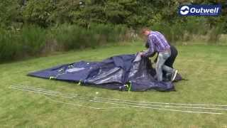 Outwell Nevada S Tent Pitching Video |  Innovative Family Camping