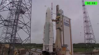 Décollage Ariane 5 VA240-Galileo (12/12/17)