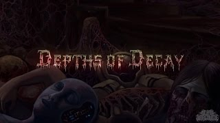 ROTTING OBSCENE - DEPTHS OF DECAY [LYRIC VIDEO] (2016) SW EXCLUSIVE